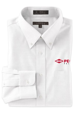 Nordstrom Traditional Fit Pinpoint Dress Shirt