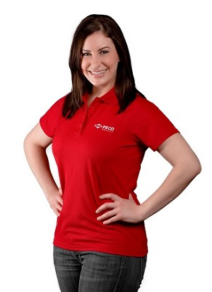 PECO Pallet Women's Red Polo